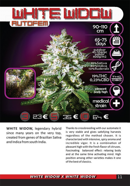 White Widow package image